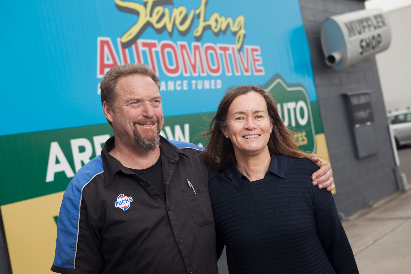 Steve and Sandy from Mount Maunganui Automotive